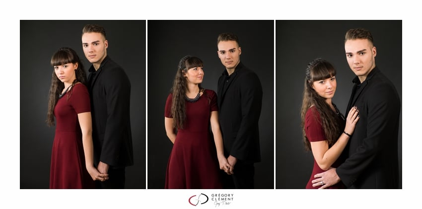 Photographe couple en studio Toul 10