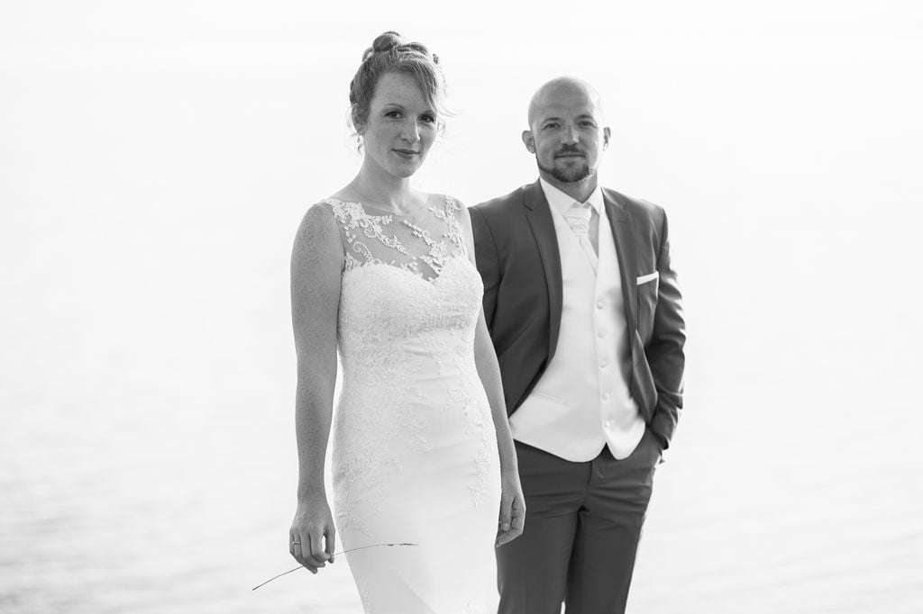Photo mariage Nancy destination wedding noir et blanc Bretagne ®gregory clement.fr
