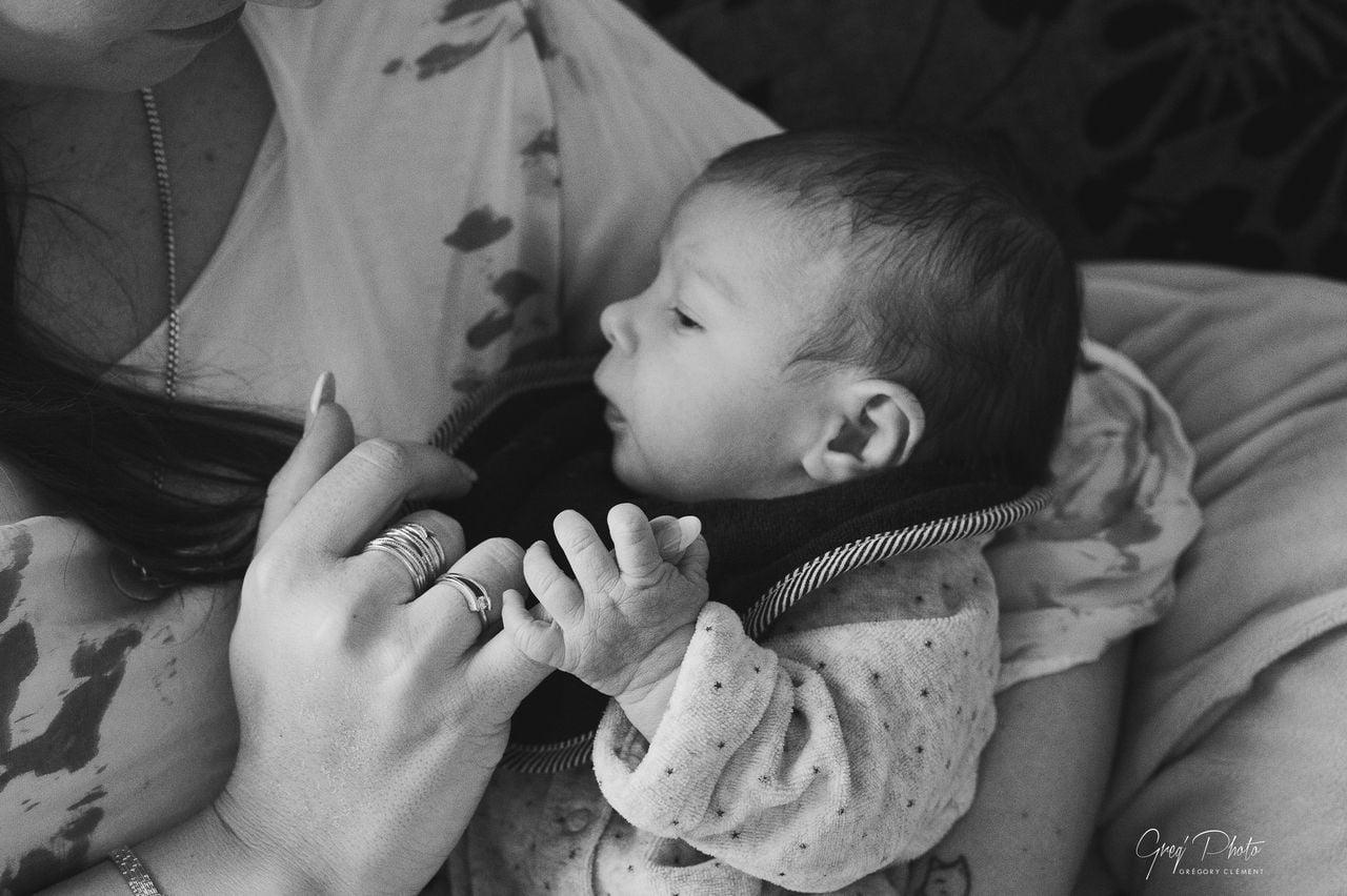Photos de naissance a domicile dans les vosgesNai127