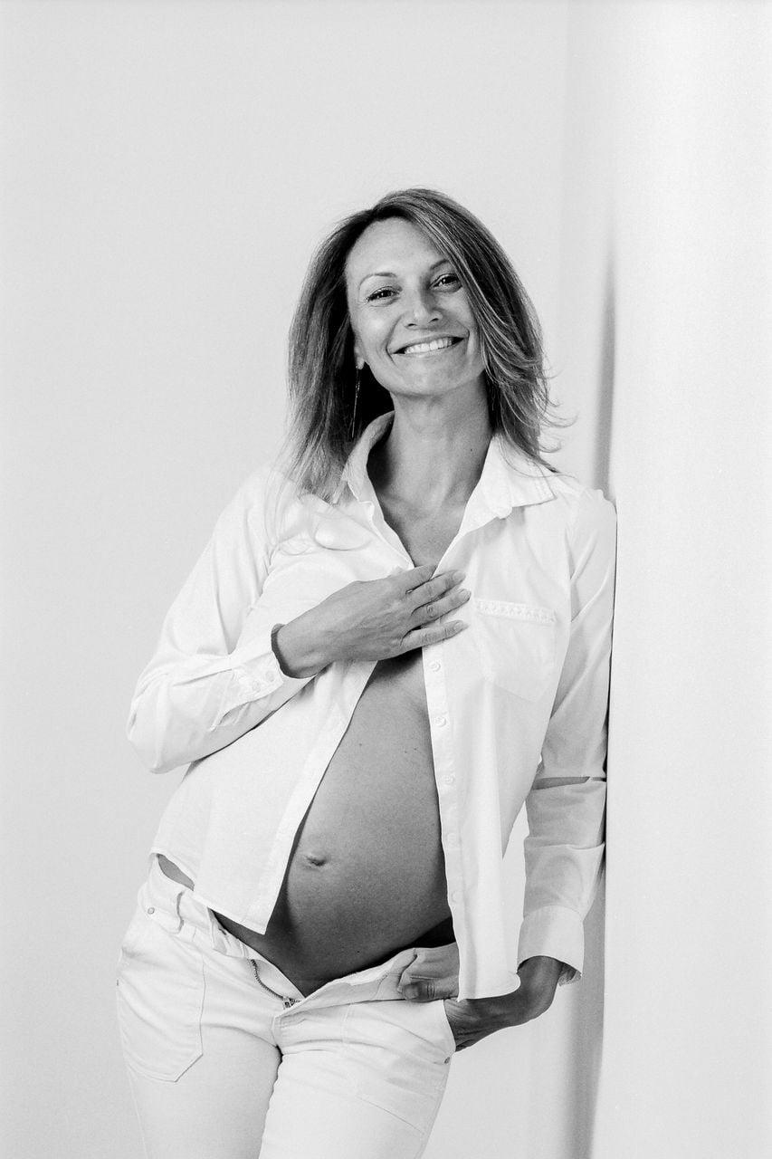 photographe grossesse argentique Nancy Toul 3