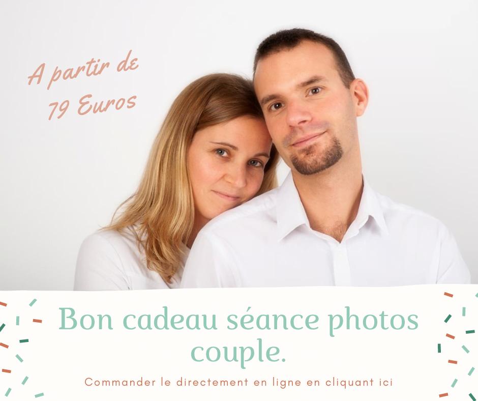 Bon cadeau seance photos couple Nancy Toul Neufchateau