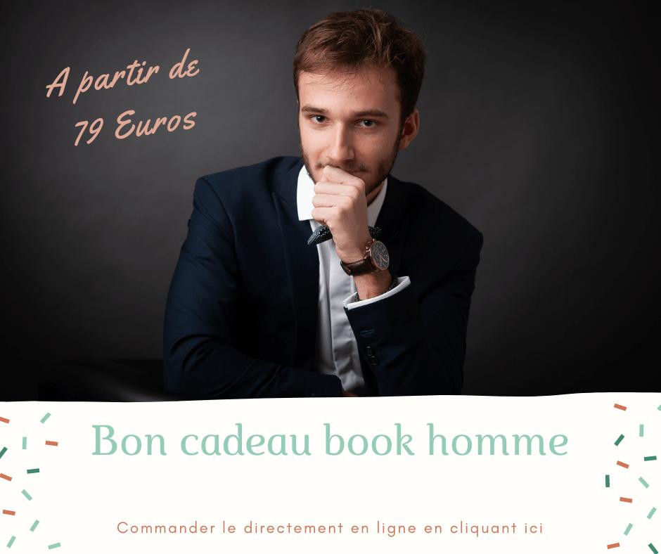 Bon cadeau séance photo book homme Nancy Toul Neufchateau